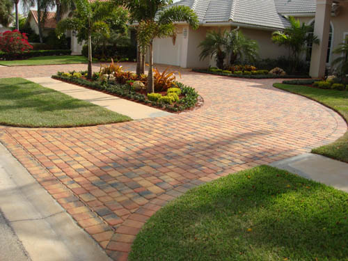 Concrete Paved Driveways